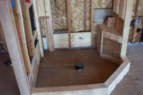 Wonderful Hereu0027s A Shower Tub Combo. Everything Looks Good, Except One Thing. Thereu0027s  No Backing In The Left, Back Corner Of The Deck (right Back Corner Of Shower  ...